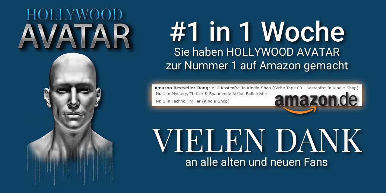 Hollywood Avatar - Darius Quinn - Bestseller-Autor