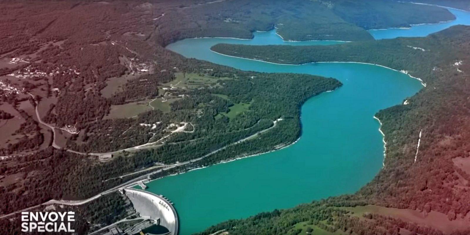 Staudamm von Vouglans
